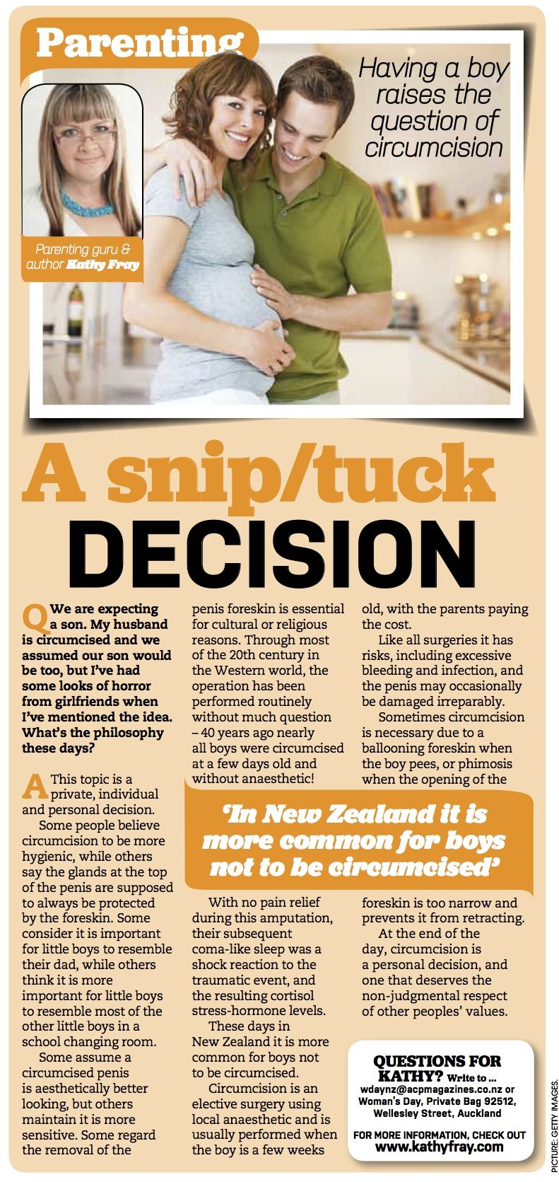A Snip Tuck Decision
