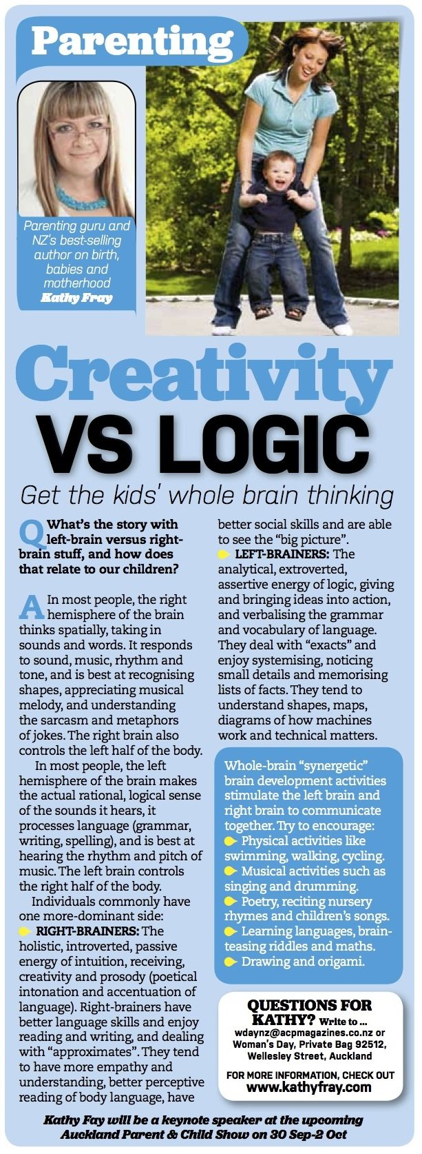Creativity vs Logic
