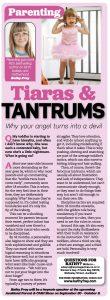 Tiaras and tantrums