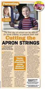 cutting the apron strings