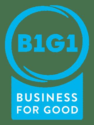 B1G1 member symbol blue
