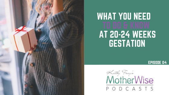 WHAT YOU NEED TO DO & KNOW AT 20-24 WEEKS GESTATION