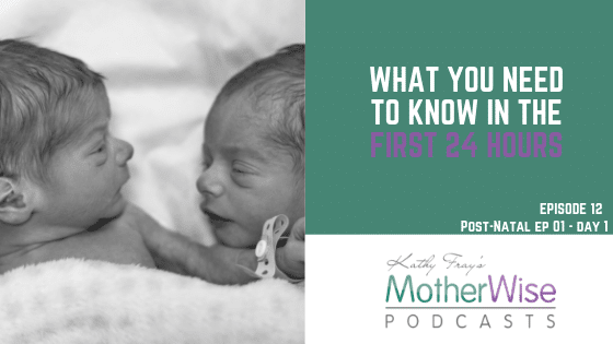 Episode 12: POST-NATAL EP 01 - DAY1 WHAT YOU NEED TO KNOW IN THE FIRST 24 HOURS
