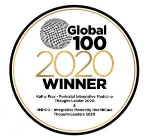 Global 100 - 2020 badge KathyFray & IIMHCO